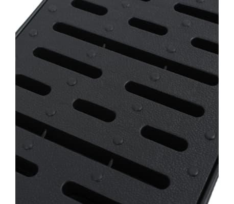 vidaXL Markrännor plast 2 m[4/5]
