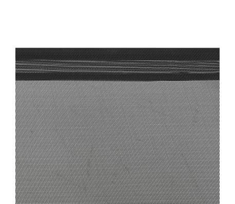 vidaXL Hondenbed verhoogd L textileen zwart[5/6]