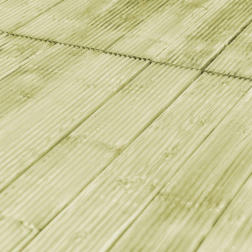 vidaXL 6 st Terrasplanken 1,34 m² hout