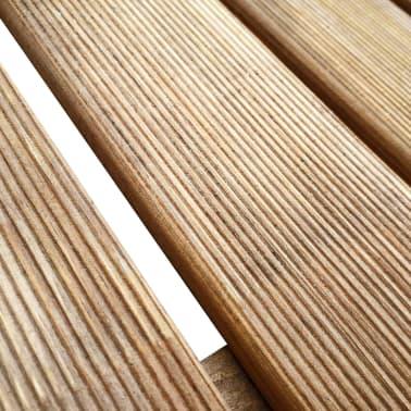 vidaXL Grindų plytelės, 6 vnt., rudos, 50x50 cm, FSC mediena[3/3]