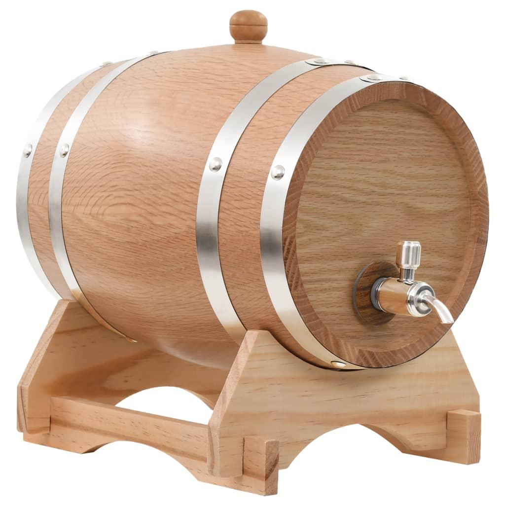Meuble En Tonneau De Vin vidaxl tonneau à vin avec robinet chêne massif 12 l   vidaxl.fr