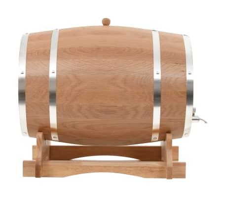 vidaXL Sud na víno z dubového dreva s kohútikom 35 l[2/9]
