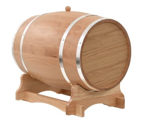 vidaXL Sud na víno z dubového dreva s kohútikom 35 l[3/9]