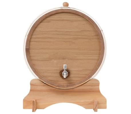 vidaXL Sud na víno z dubového dreva s kohútikom 35 l[4/9]