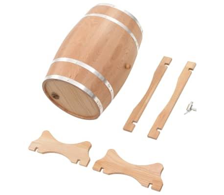 vidaXL Sud na víno z dubového dreva s kohútikom 35 l[8/9]