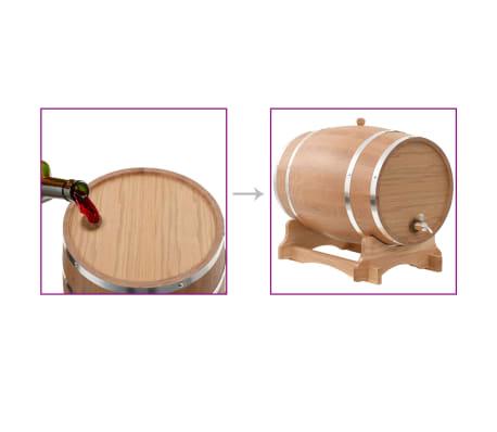 vidaXL Sud na víno z dubového dreva s kohútikom 35 l[9/9]
