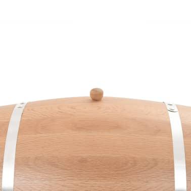 vidaXL Sud na víno z dubového dreva s kohútikom 35 l[6/9]