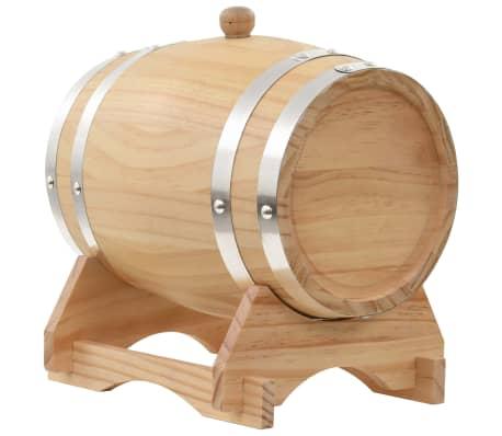vidaXL Sod za vino s pipo trdna borovina 12 L[4/9]