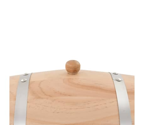 vidaXL Sod za vino s pipo trdna borovina 12 L[6/9]