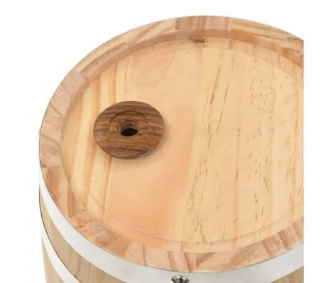 vidaXL Sod za vino s pipo trdna borovina 12 L[7/9]
