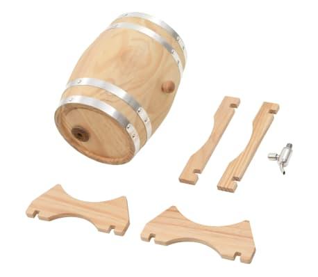 vidaXL Sod za vino s pipo trdna borovina 12 L[8/9]
