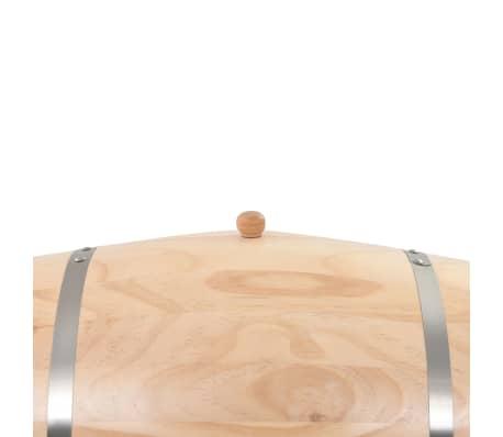 vidaXL Sud na víno s kohútikom z borovicového dreva 35 l[6/9]