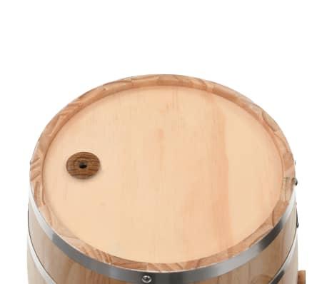 vidaXL Sud na víno s kohútikom z borovicového dreva 35 l[7/9]