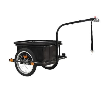 vidaxL cykelanhænger sort 50 l[3/10]