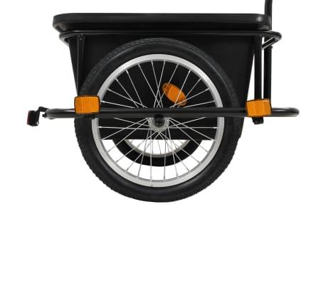 vidaxL cykelanhænger sort 50 l[5/10]