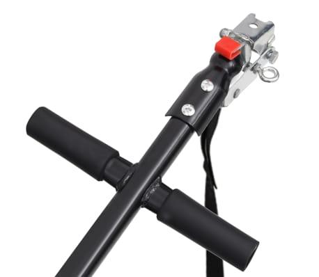 vidaxL cykelanhænger sort 50 l[7/10]