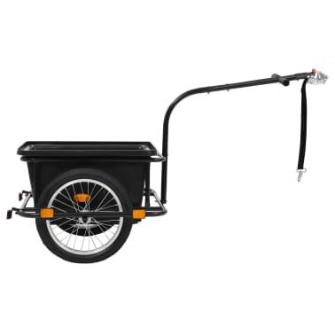 vidaxL cykelanhænger sort 50 l[2/10]