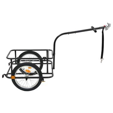 vidaxL cykelanhænger sort 50 l[4/10]