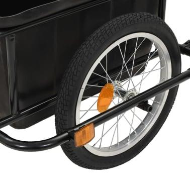 vidaxL cykelanhænger sort 50 l[6/10]