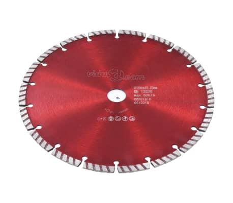 vidaXL Disque de coupe diamanté avec acier turbo 230 mm[2/4]