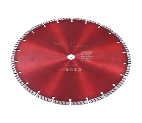 vidaXL Disque de coupe diamanté avec acier turbo 300 mm[2/4]