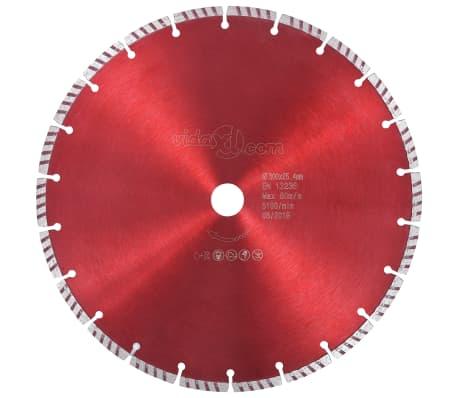 vidaXL Diamantklinga med Turbo Steel 300 mm