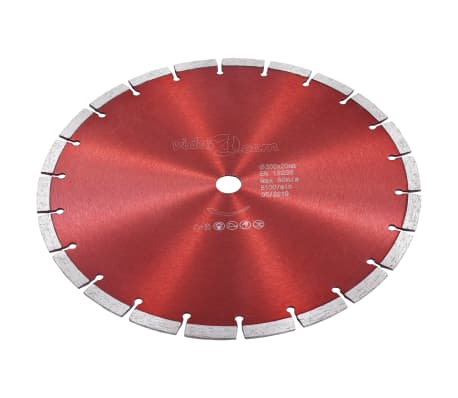 vidaXL Disque de coupe diamanté Acier 300 mm[2/4]