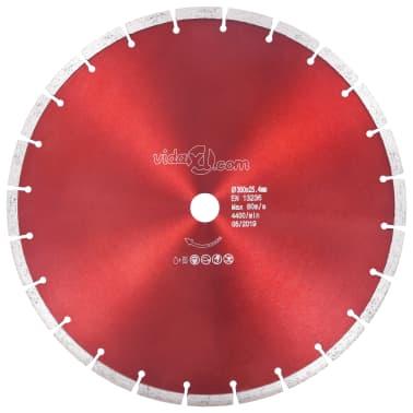 vidaXL Disque de coupe diamanté Acier 350 mm[1/4]