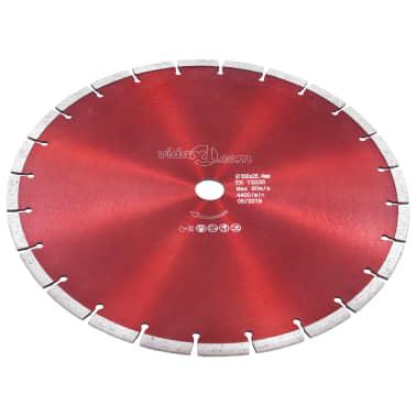 vidaXL Disque de coupe diamanté Acier 350 mm[2/4]