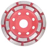 vidaXL Disco de diamante com segmento duplo 115 mm para rebarbadora