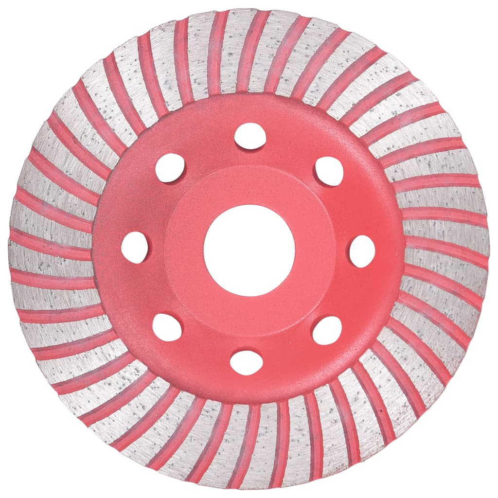 vidaXL Disc de polizare diamantat tip cupă, cu turbo, 115 mm imagine vidaxl.ro