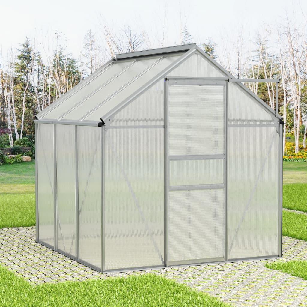 Cette serre spacieuse a une surface totale de 3,61 m². Elle peut accueillir un nombre considérable de plantes et sera une excellente solution pour protéger vos plantes contre le froid. Faite de panneaux de polycarbonate, cette serre solide est résistante aux UV et isolée thermiquement. Elle peut résister à des températures de -20 ℃ jusqu'à 70 ℃.