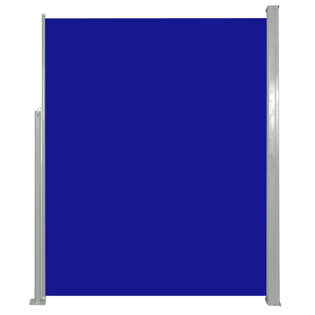 vidaXL Σκίαστρο Πλαϊνό Συρόμενο Μπλε 180 x 500 εκ.
