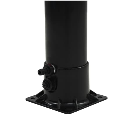 "vidaXL Solar Shower Black 84.3"" 4.8 gal[7/8]"
