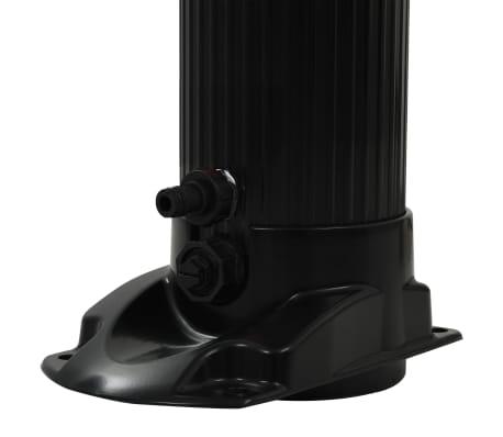 "vidaXL Foldable Solar Shower Black 84.3"" 6.1 gal[7/8]"
