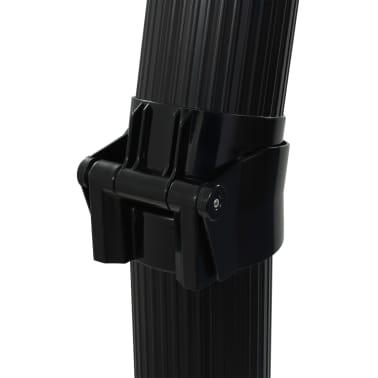 "vidaXL Foldable Solar Shower Black 84.3"" 6.1 gal[6/8]"