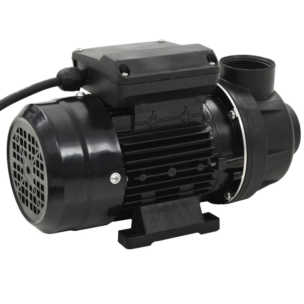 vidaXL Pompă pentru piscină, negru, 0,25 CP 7500 L / h poza vidaxl.ro