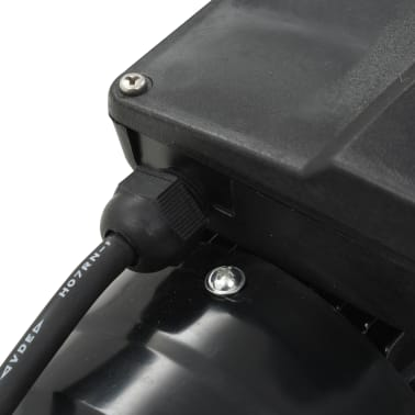 vidaXL Baseino siurblys, juodas, 0,25 AG, 7500 l/val[6/7]