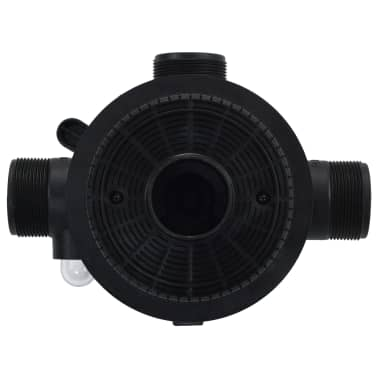 "vidaXL Multiport Valve for Sand Filter ABS 1.5"" 6-way[4/6]"