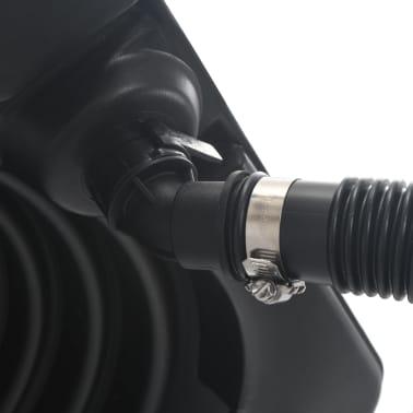 vidaXL Baseino šildytuvas su saulės baterija, 75x75x36 cm HDPE Aliuminis[5/7]