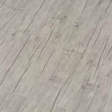 vidaXL selvklæbende gulvbrædder 4,46 m² PVC egetræ afvasket[3/5]
