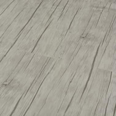 vidaXL selvklæbende gulvbrædder 4,46 m² PVC egetræ afvasket[4/5]