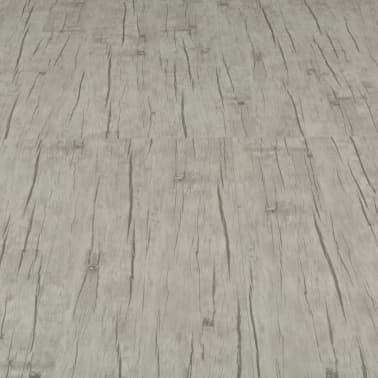 vidaXL selvklæbende gulvbrædder 4,46 m² PVC egetræ afvasket[5/5]