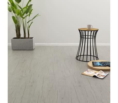 vidaXL selvklæbende gulvbrædder 4,46 m² PVC egetræ afvasket[1/5]