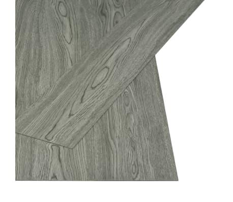 vidaXL selvklæbende gulvbrædder 4,46 m² 3 mm PVC grå[2/5]