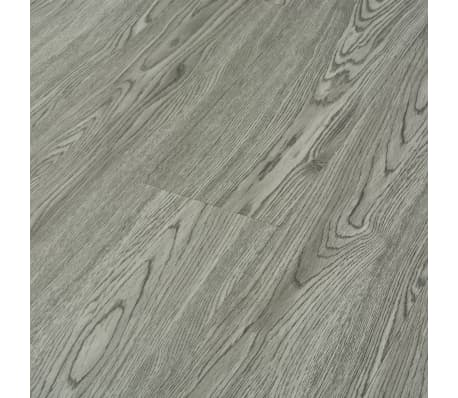 vidaXL selvklæbende gulvbrædder 4,46 m² 3 mm PVC grå[5/5]