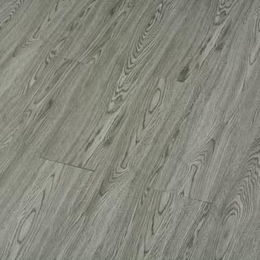 vidaXL selvklæbende gulvbrædder 4,46 m² 3 mm PVC grå[4/5]