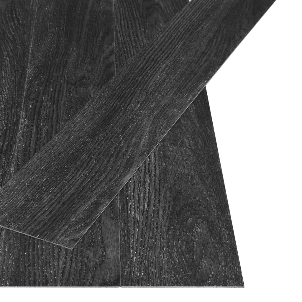 vidaXL Vloerplanken zelfklevend 4,46 m² 3 mm PVC eiken antraciet