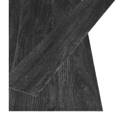 vidaXL Grindų plokštės, 4,46m², PVC, prilipdomos, ąžuolo/antr. sp.[2/5]
