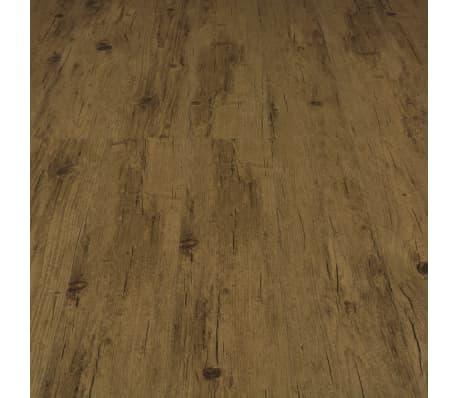 vidaXL Grindų plokštės, 4,46m², PVC, prilipdomos, natūr. rud. sp.[5/5]